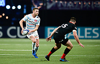 17th November 2019,  Paris La Défense Arena, Hauts-de-Seine, France; Champions Cup Rugby Union, Racing 92 versus Saracens;  Finn RUSSELL (Racing) looks to pass off
