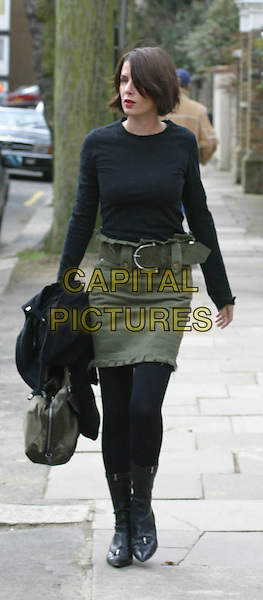 "SADIE FROST .leaving her London home to go to Elstree Film Studios where she begins work producing ""World Of Tomorrow"" in which her husband Jude Law stars..www.capitalpictures.com.©Capital Pictures"