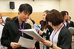 (L-R) Yuzuru Hanyu, Moemi Kikuchi, APRIL 20, 2013 : The Building up Team Japan 2013 for Sochi at Ajinomoto NTC, Tokyo, Japan. (Photo by AFLO SPORT)