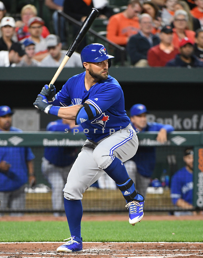 Toronto Blue Jays Kevin Pillar (11) during a game against the Baltimore Orioles on April 5, 2017 at Oriole Park at Camden Yards in Baltimore, MD. The Orioles beat the Blue Jays 3-1.