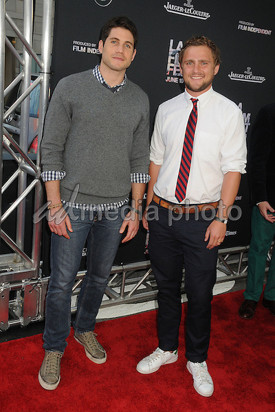 "10 June 2015 - Los Angeles, California - Michael Doneger, Will Slocombe. LA Film Festival 2015 Opening Night Premiere of ""Grandma"" held at Regal Cinemas LA Live. Photo Credit: Byron Purvis/AdMedia"