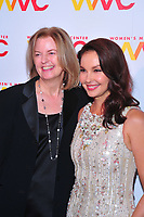 NEW YORK, NY - OCTOBER 26: Julie Burton and Ashley Judd at the Women's Media Center 2017 Women's Media Awards at Capitale on October 26, 2017 in New York City. Credit: John Palmer/MediaPunch /NortePhoto.com