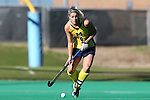 14 November 2015: Michigan's Caroline Chromik. The Wake Forest University Demon Deacons played the University of Michigan Wolverines at Francis E. Henry Stadium in Chapel Hill, North Carolina in a 2015 NCAA Division I Field Hockey Tournament First Round match. Michigan won the game 2-1.