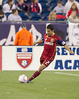 Real Salt Lake defender Tony Beltran (2). Real Salt Lake defeated the New England Revolution, 2-1, at Gillette Stadium on October 2, 2010.