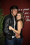 Kelley Missal & boyfriend Tyler Schamikow at My Big Gay Italian Wedding on March 18, 2011 (also 3-17- & 3-20) at St. Luke's Theatre, New York City, New York. (Photo by Sue Coflin/Max Photos)