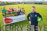 Prize winners who won a Garvey's Supervalu prize of a training session with Kerry Footballer Marc Ó Sé pictured at Caherslee GAA Grounds on Thursday. Pictured with Marc were, front, from left: Jake O'Connor, Damien Hogan, Tom Flavin, Evan Foley, Gearoid O'Connor, Thomáis O'Sullivan and Ronan Mulrooney. Back, from left: Katelyn Diggins, Rebecca Dennehy, Ciara Moynihan, Alanna Dennehy, Jamie Galvin and Phillip Byrne.
