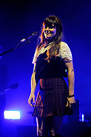LONDON, ENGLAND - NOVEMBER 7: Julia Stone of 'Angus and Julia Stone' performing at Brixton Academy on November 7, 2017 in London, England.<br /> CAP/MAR<br /> &copy;MAR/Capital Pictures
