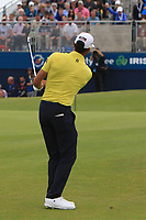 Rafa Cabrera Bello (ESP) on the 18th during Round 4 of the Irish Open at LaHinch Golf Club, LaHinch, Co. Clare on Sunday 7th July 2019.<br /> Picture:  Thos Caffrey / Golffile<br /> <br /> All photos usage must carry mandatory copyright credit (© Golffile | Thos Caffrey)