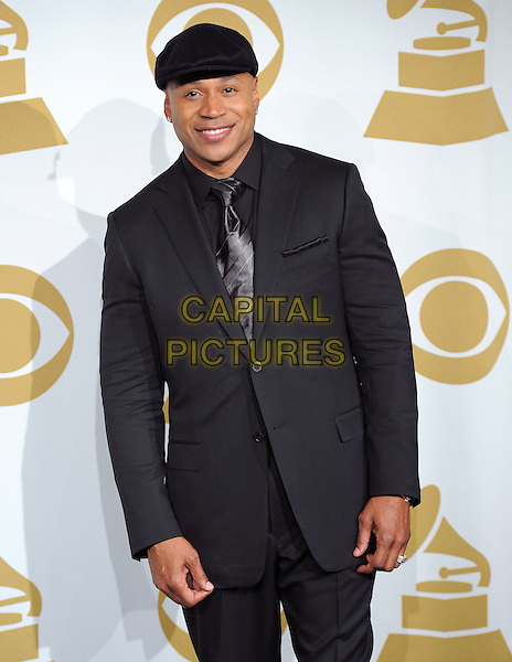 LL COOL J (JAMES TODD SMITH).at The Grammy Nominations Concert Live, held at Nokia Live in Los Angeles, California, USA, December 1st, 2010..half length black cap hat suit tie                                        .CAP/RKE/DVS.©DVS/RockinExposures/Capital Pictures.