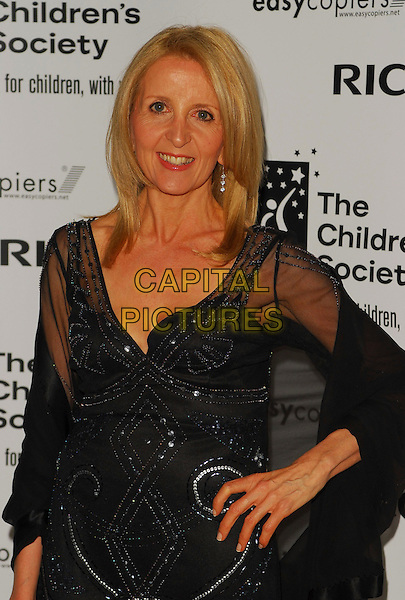 GILLIAN McKEITH.The Children's Society annual ball, this year celebrating the society's 125th anniversary with a fairytale theme at Claridges Ballroom, London, UK..May 17th, 2006.Ref: CAN.half length black hand on hip dress.www.capitalpictures.com.sales@capitalpictures.com.©Capital Pictures