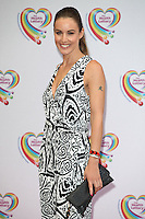Charlie Webster arriving for the Health Lottery Tea Party, The Savoy, London. 02/06/2014 Picture by: Alexandra Glen / Featureflash