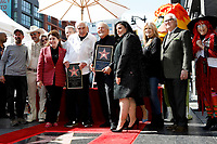 LOS ANGELES - FEB 13:  Greg Garcia, David Arquette, Beverly D'Angelo, Sid Krofft, Marty Krofft, Maureen McCormick, Christopher Knight, Susan Olsen at the Sid and Marty Kroft Star Ceremony on the Hollywood Walk of Fame on February 13, 2019 in Los Angeles, CA