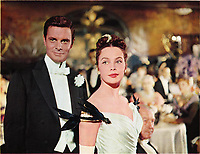 Gigi (1958) <br /> Leslie Caron &amp; Louis Jourdan<br /> *Filmstill - Editorial Use Only*<br /> CAP/MFS<br /> Image supplied by Capital Pictures