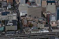 aerial photograph South of Market SOMA San Francisco, California