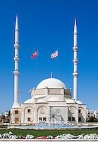 CYPRUS, North cyprus (turkish), Ammochostos/Famagusta (Gazimagusa): Osman Fazil Polat Pasa Camii - Mosque | Nord-Zypern (tuerkisch), Famagusta (Gazimagusa), auch Ammochostos genannt: Osman Fazil Polat Pasa Camii - Moschee