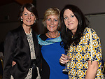 Mary Upton, Eleanor Branigan and Tracy Pentony at the Captain's dinner at Seapoint Golf Club. Photo:Colin Bell/pressphotos.ie