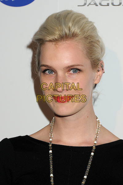 Kiera Smith.BritWeek 2012 Official Launch held at a Private Residence, Los Angeles, California, USA..April 24th, 2012.headshot portrait black red lipstick necklace   .CAP/ADM/BP.©Byron Purvis/AdMedia/Capital Pictures.