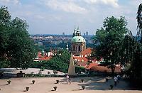 Gaerten des Hradschin, Prag, Tschechien, Unesco-Weltkulturerbe.