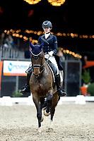 ZUIDBROEK - Paardensport, IICH, Dressuur Grand Prix op muziek,  22-12-2018,  Saskia Knol met Cynosa