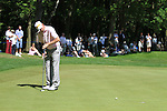 Stephen Gallagher on the first hole in the final round of the BMW PGA championship 2010 at Wentworth golf club, Surrey, England..Picture Manus O'Reilly/Newsfile.ie