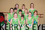 Pictured at the Academy of Dance anual show held in Siamsa on Sunday were: Zoe Keane Costello, Molly O'Donoghue, Kerrie Butler, Caitlin Smith, Molly McSweeney, Lilly O Connor, Niamh Doogan Jones, Beatrice Dowling, Andrea Dowling, Claire Dowling, Ciara Butler