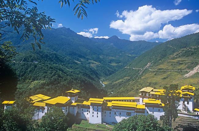 Dzong, Trongsa, Bhutan
