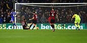 2nd February 2019, Cardiff City Stadium, Cardiff, Wales; EPL Premier League football, Cardiff City versus AFC Bournemouth; Bobby Reid of Cardiff City scores his second goal of the game in the 46th minute after beating Artur Boruc of Bournemouth making it 2-0