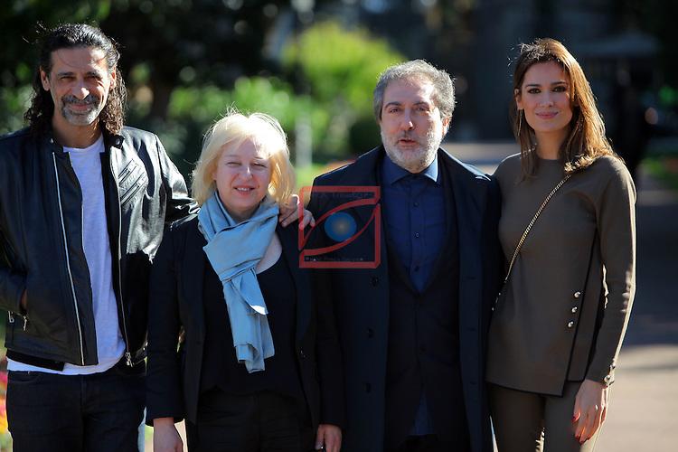 63 Premios Ondas.<br /> Palacete Albeniz-Encuentro con los medios.<br /> El Ministerio del Tiempo.