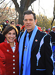 Amy Kule (Executive producer of this parade) and Chris Isaac at the 86th Annual Macy's Thanksgiving Day Parade on November 22, 2012 in New York City, New York. (Photo by Sue Coflin/Max Photos)