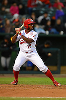 Peoria Chiefs outfielder Matthew Young #18 during a game against the Wisconsin Timber Rattlers on May 25, 2013 at Dozer Park in Peoria, Illinois.  Peoria defeated Wisconsin 6-0.  (Mike Janes/Four Seam Images)