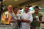 Paul Hussey(Chairperson), Margaret Reilly(Treasurer) and Bernadette Costello (Committee) with Neven Maguire at the Flogas Summer Barbeque Cookery Demonstration in the Boyne Valley Hotel, Drogheda in aid of..Photo NEWSFILE/Jenny Matthews.(Photo credit should read Jenny Matthews/NEWSFILE)....This Picture has been sent you under the condtions enclosed by:.Newsfile Ltd..The Studio,.Millmount Abbey,.Drogheda,.Co Meath..Ireland..Tel: +353(0)41-9871240.Fax: +353(0)41-9871260.GSM: +353(0)86-2500958.email: pictures@newsfile.ie.www.newsfile.ie.FTP: 193.120.102.198.