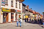 Ulica Zatorska, Wadowice, Polska<br /> Zatorska Street, Wadowice, Poland