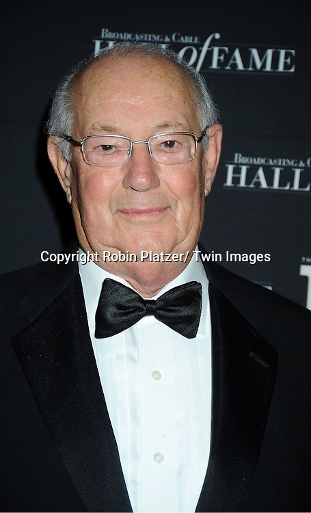 honoree Jim Yager attends the 2011 Broadcasting & Cable Hall of Fame Awards on October 26, 2011 at the Waldorf Astoria Hotel in New York City.