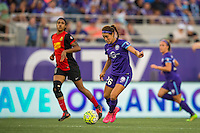 Orlando, Florida - Sunday, May 14, 2016: Orlando Pride midfielder Samantha Witteman (26) during a National Women's Soccer League match between Orlando Pride and New York Flash at Camping World Stadium.