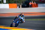 VALENCIA, SPAIN - NOVEMBER 11: Aron Canet during Valencia MotoGP 2016 at Ricardo Tormo Circuit on November 11, 2016 in Valencia, Spain