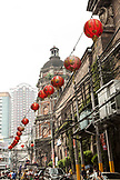 PHILIPPINES, Manila, street scene in China Town, the Binando District and Binando Church