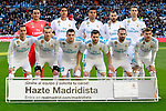Real Madrid's team photo with Keylor Navas, Raphael Varane, Carlos Henrique Casemiro, Karim Benzema, Cristiano Ronaldo, Lucas Vazquez, Gareth Bale, Mateo Kovacic, Nacho Fernandez, Daniel Carvajal and Theo Hernandez during La Liga match. February 24,2018. (ALTERPHOTOS/Acero)