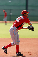 Carlos Mendez - Cincinnati Reds 2009 Instructional League. .Photo by:  Bill Mitchell/Four Seam Images..