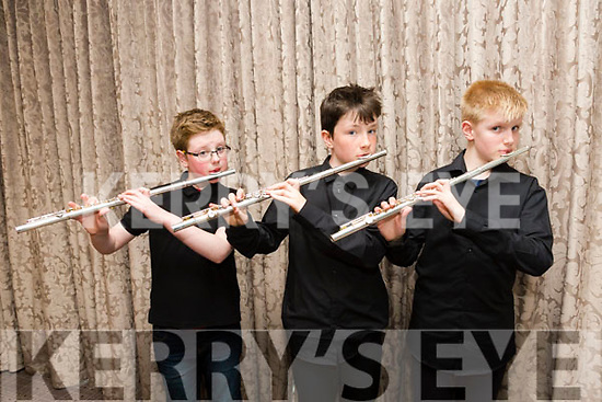 Kerry School of Music Concert at the Rose Hotel on Sunday odhran O'Reilly,  Shamus Fleming and Kostas Daskalakis