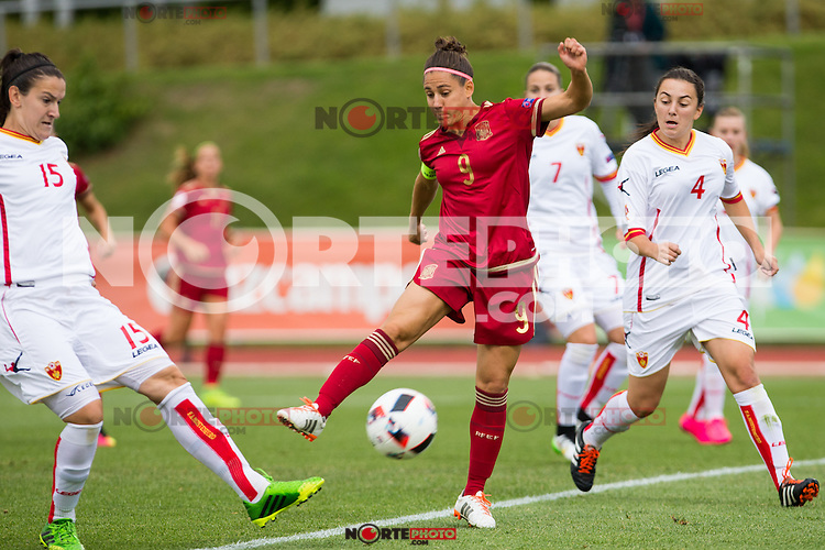Spain's Veronica Boquete during the match of  European Women's Championship 2017 at Las Rozas, between Spain and Montenegro. September 15, 2016. (ALTERPHOTOS/Rodrigo Jimenez) /NORTEPHOTO