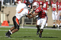 18 November 2006: Tim Sims during Stanford's 30-7 loss to Oregon State at Stanford Stadium in Stanford, CA.
