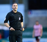 Referee Dean Whitestone<br /> <br /> Photographer Chris Vaughan/CameraSport<br /> <br /> The Emirates FA Cup Second Round - Lincoln City v Carlisle United - Saturday 1st December 2018 - Sincil Bank - Lincoln<br />  <br /> World Copyright © 2018 CameraSport. All rights reserved. 43 Linden Ave. Countesthorpe. Leicester. England. LE8 5PG - Tel: +44 (0) 116 277 4147 - admin@camerasport.com - www.camerasport.com