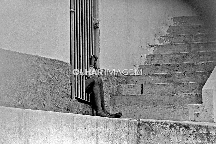 Clinica de tratamento de menores, Febem. Clinica Congonhas. São Paulo. 1978. Foto de Juca Martins.