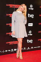 "Daniela Blume attends ""La Ignorancia de la Sangre"" Premiere at Capitol Cinema in Madrid, Spain. November 13, 2014. (ALTERPHOTOS/Carlos Dafonte) /NortePhoto nortephoto@gmail.com"