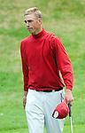 DEN DOLDER - Teemu Bakker, die als derde eindigde , tijdens het NK Strokeplay golf op Golfsocieteit  De Lage Vuursche. COPYRIGHT KOEN SUYK