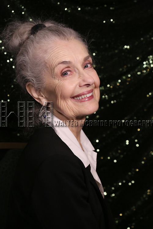 Mary Beth Peil attends the 2017 Tony Awards Meet The Nominees Press Junket at the Sofitel Hotel on May 3, 2017 in New York City.