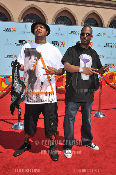 Three-6-Mafia at the 2009 BET Awards (Black Entertainment Television) at the Shrine Auditorium..June 28, 2009  Los Angeles, CA.Picture: Paul Smith / Featureflash