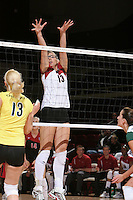 27 October 2005:  Lizzy Suiter during Stanford's 3-0 win over Oregon at Maples Pavilion in Stanford, CA.