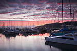 Marlin Marina at twilight.  Cairns, Queensland, Australia