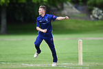 NELSON, NEW ZEALAND - TPL Cricket - Nelson College v Wakatu. Ngawhatu Park, Richmond, New Zealand. Saturday 3 November 2018. (Photo by Chris Symes/Shuttersport Limited)